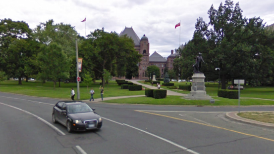 """""""Ontario Leg."""" Google Street View"""