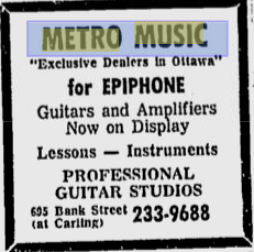 Metro Music text ad